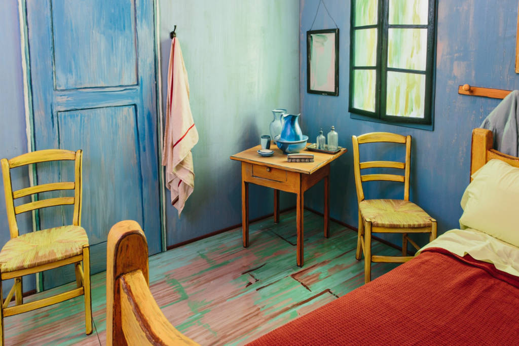 Painting The Bedroom you can rent vincent van gogh's painting 'the bedroom' on airbnb