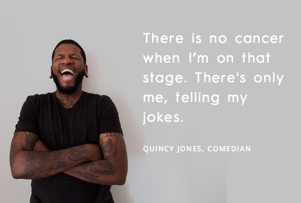 Quincy Jones Comedian