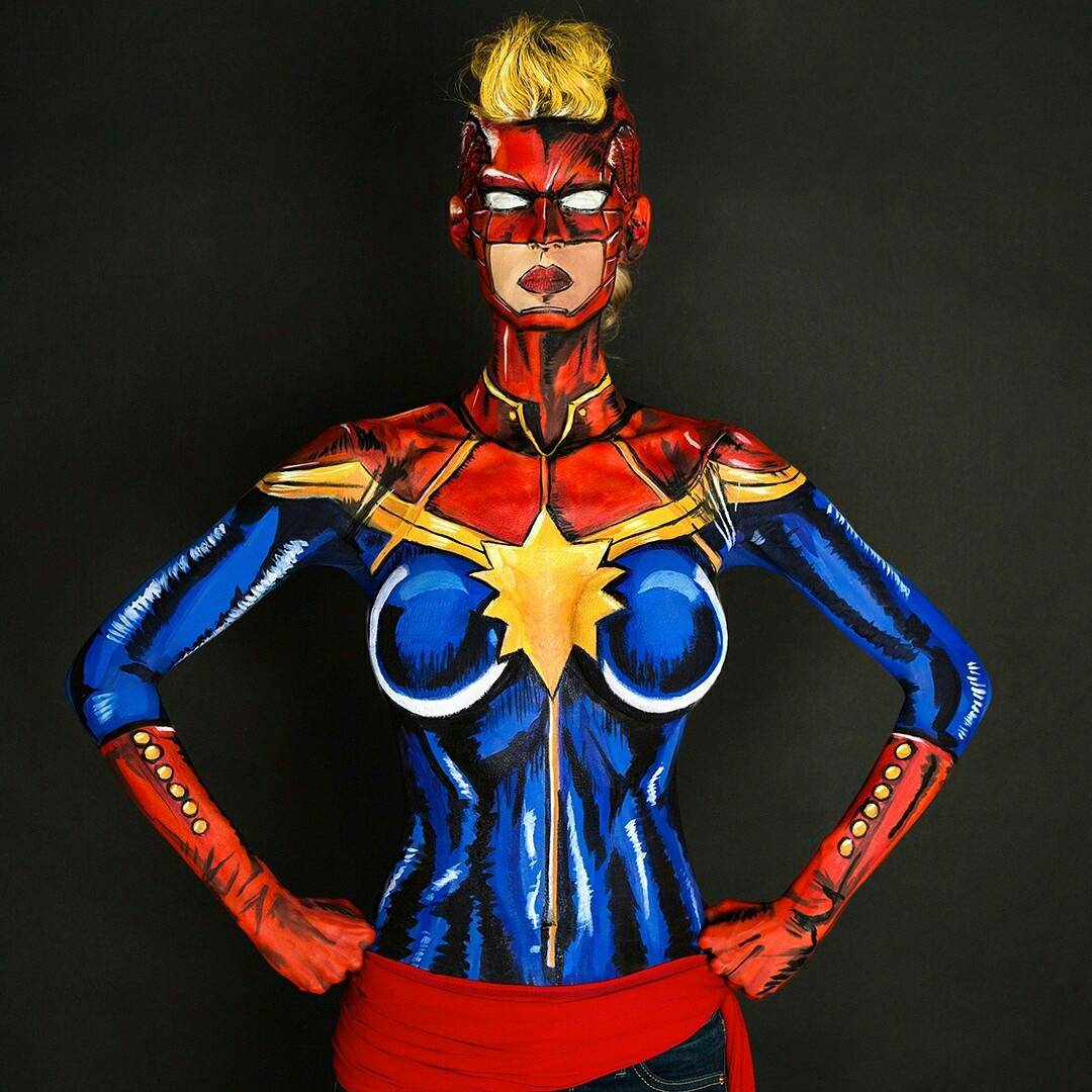 Body Paint, by Kay Pike