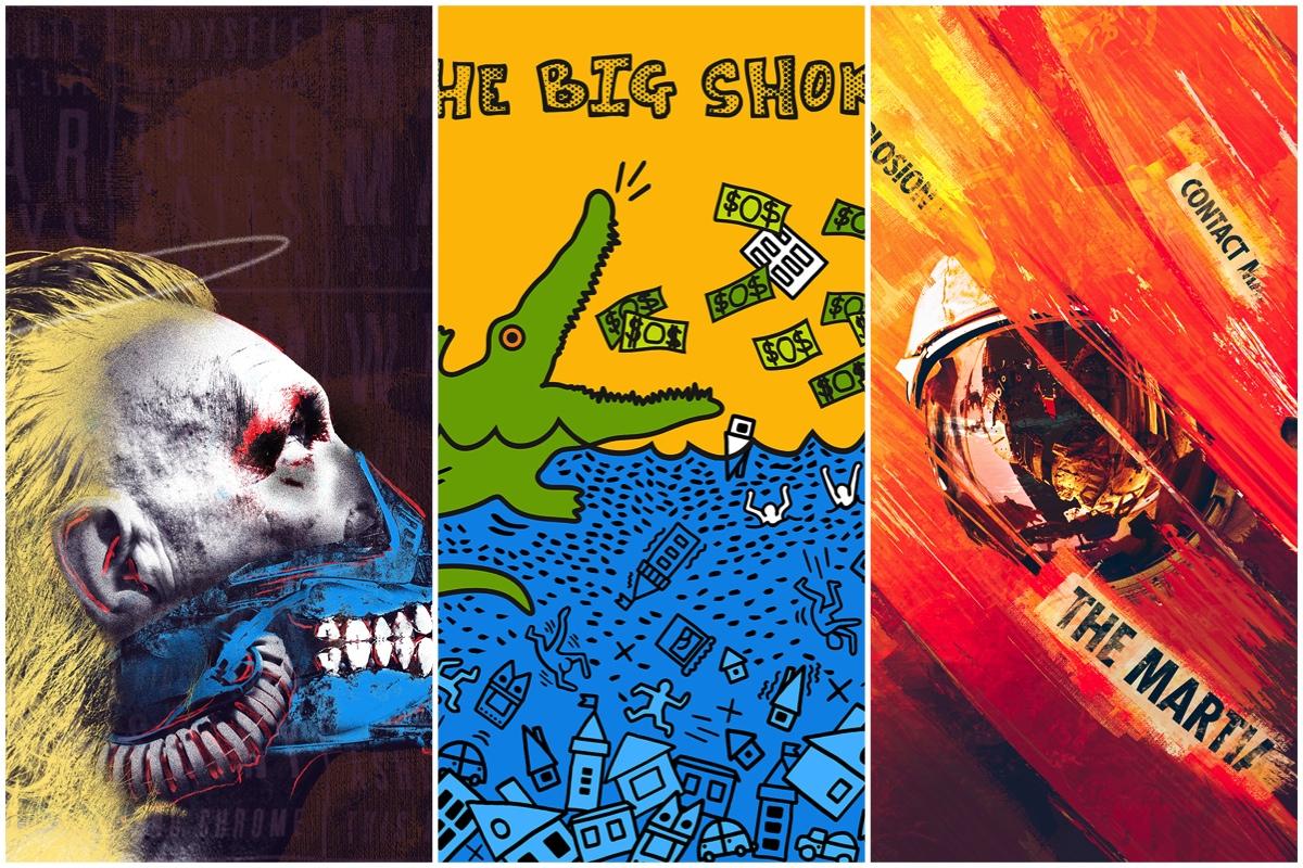 pop art oscar posters
