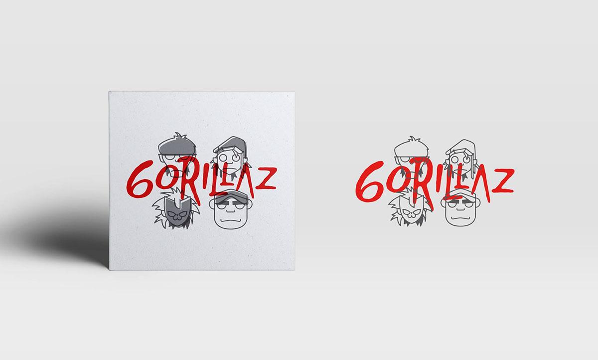 GORILLAZ // PASCUAL REDONDO bēhance | tumblr