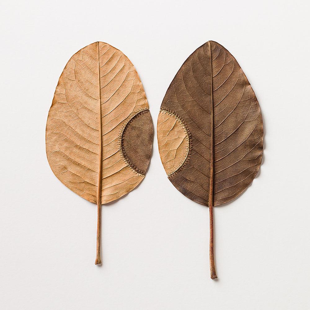 Susanna Bauer Crochet Leaf Art