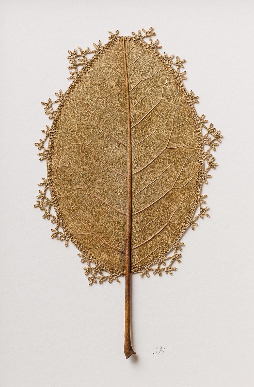 Susanna Bauer Crochet Leaf Art2