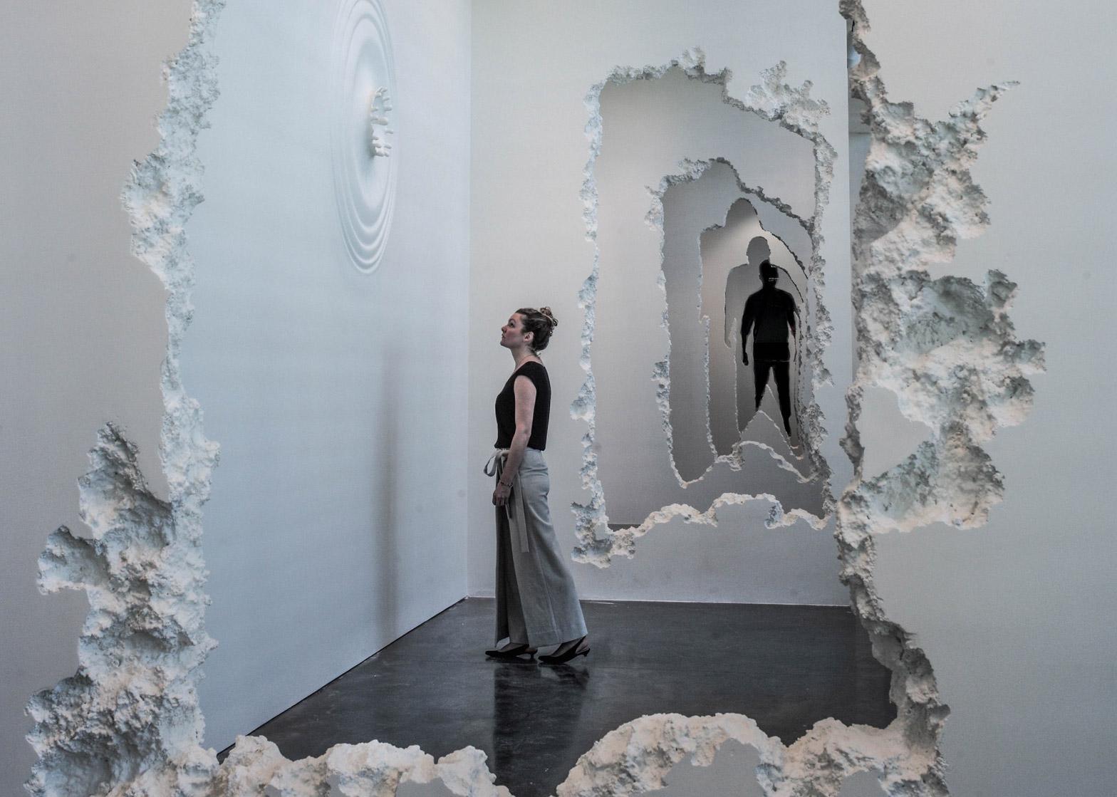 Daniel Arsham sculpture 1