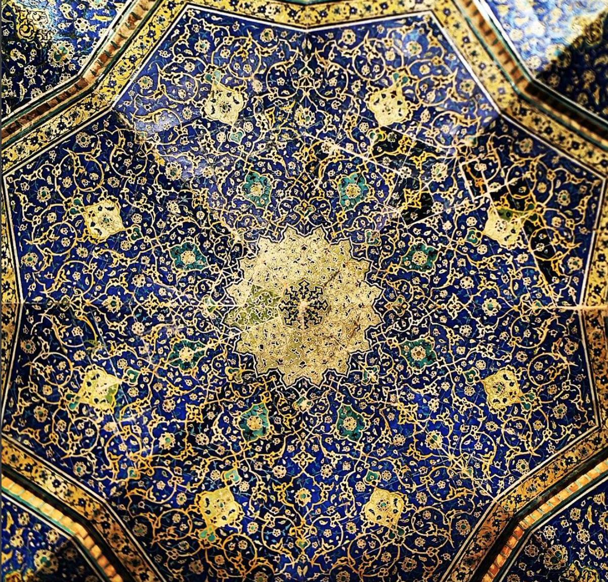 Iranian Mosque, by Mehrdad Rasoulifard