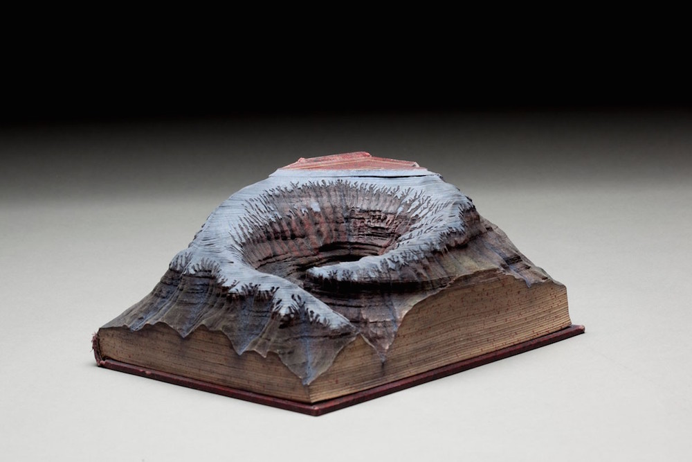 Guy Laramée carved book 3
