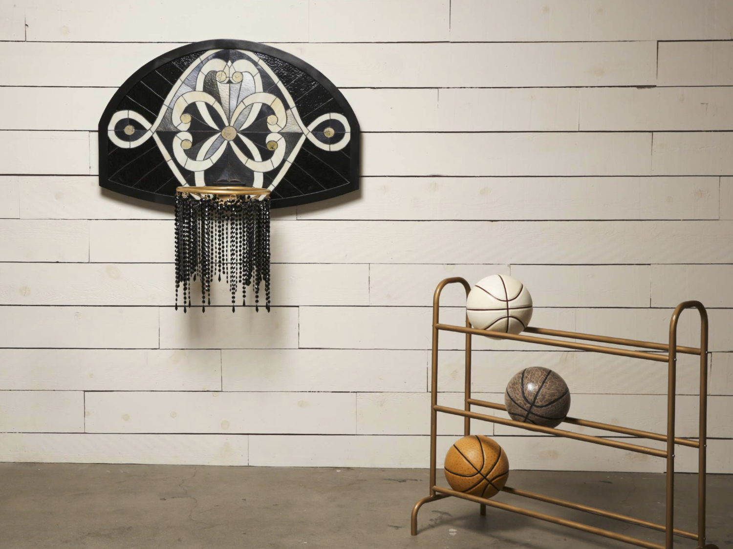 Basketball Hoop, by Victor Solomon