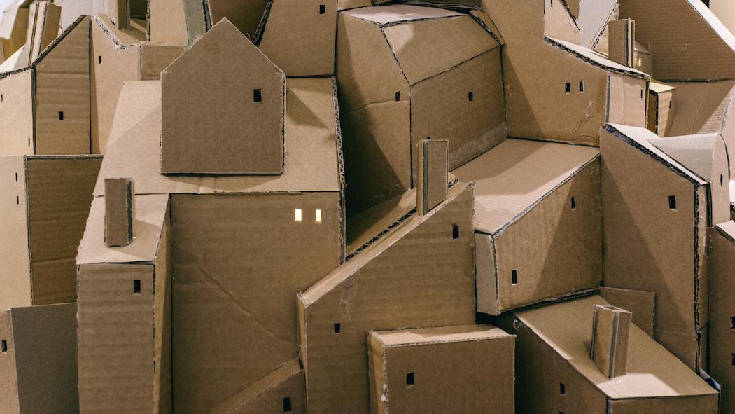 nina lindgren floating city cardboard 3