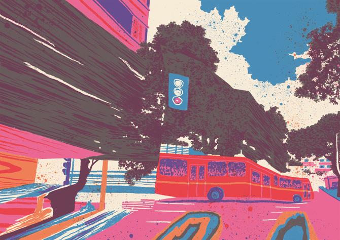 Fortuna colorful prints