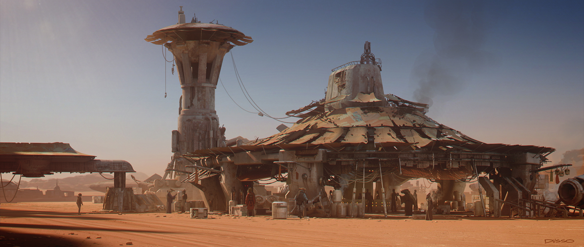 ILM Force Awakens Concept Art 9