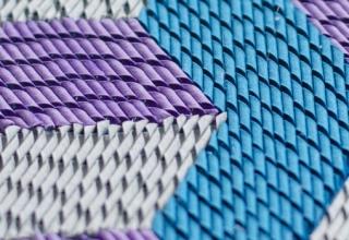 Curled Paper Mosaics, by Gunjan Aylawadi