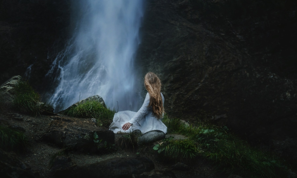 Waterfall Follow Me Away Photo