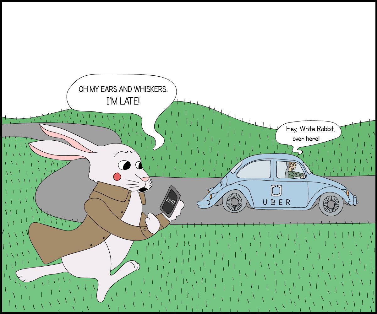 white-rabbit-uber