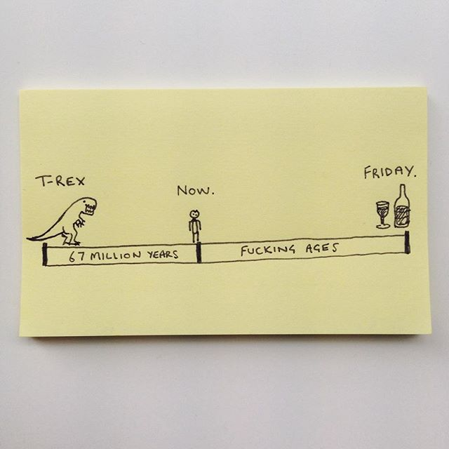 post-it fridays