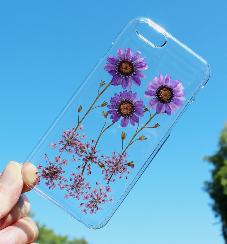 house of bling pressed flower phone case 4
