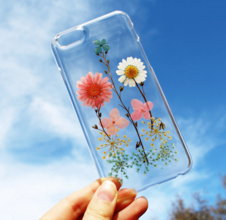 house of bling pressed flower phone case 6