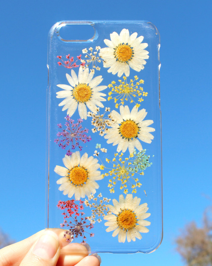 house of bling pressed flower phone case 7