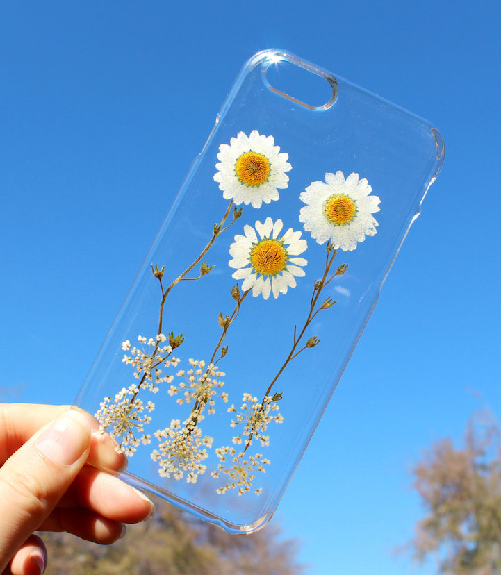 house of bling pressed flower phone case 9