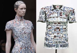 Clothes Made from Ceramics, by Li Xiaofeng