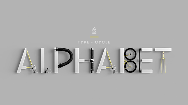bicycle parts letters