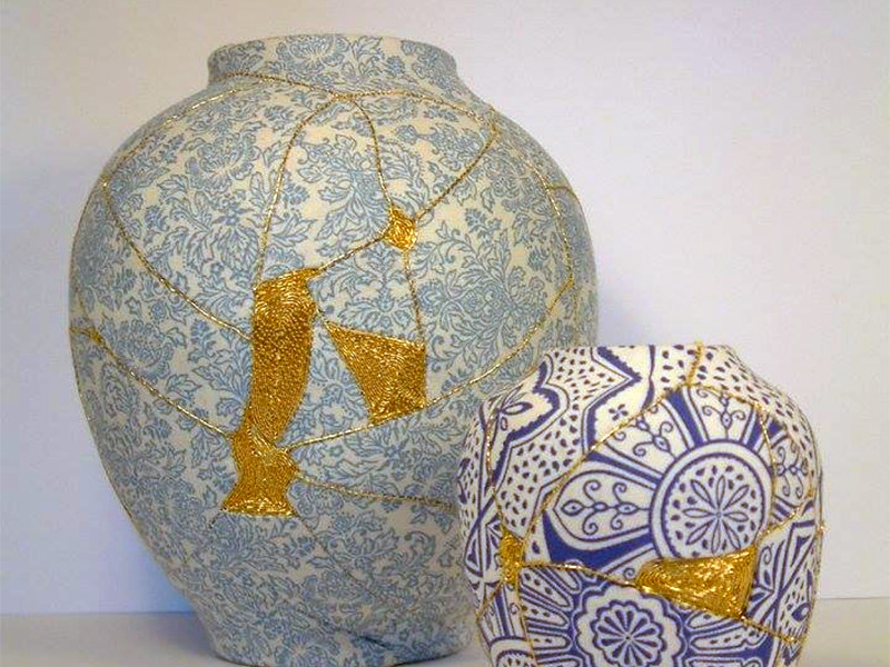 Kintsugi Vases, by Christopher Jobson