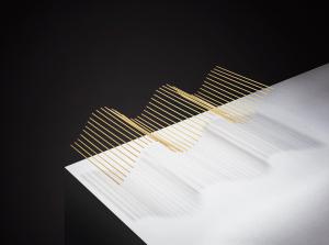 sine wave spaghetti art