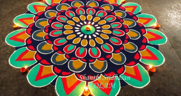 Mandala Kolams