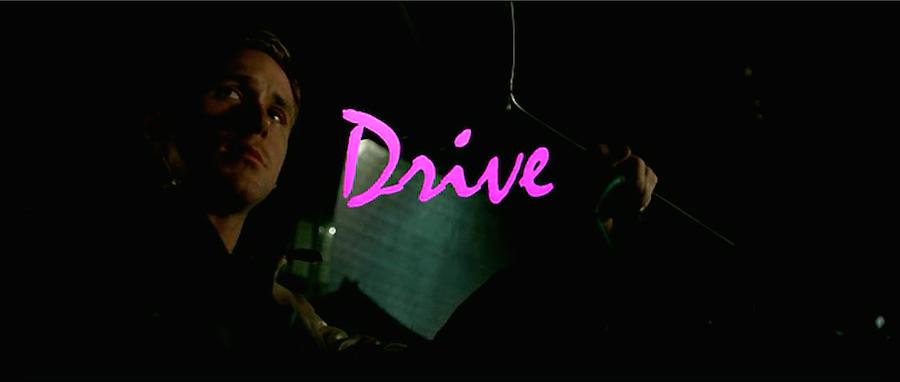 movie title design drive