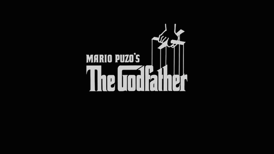 movie title design the godfather
