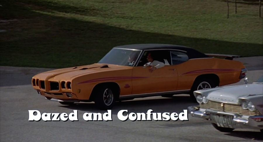 movie title design dazed and confused