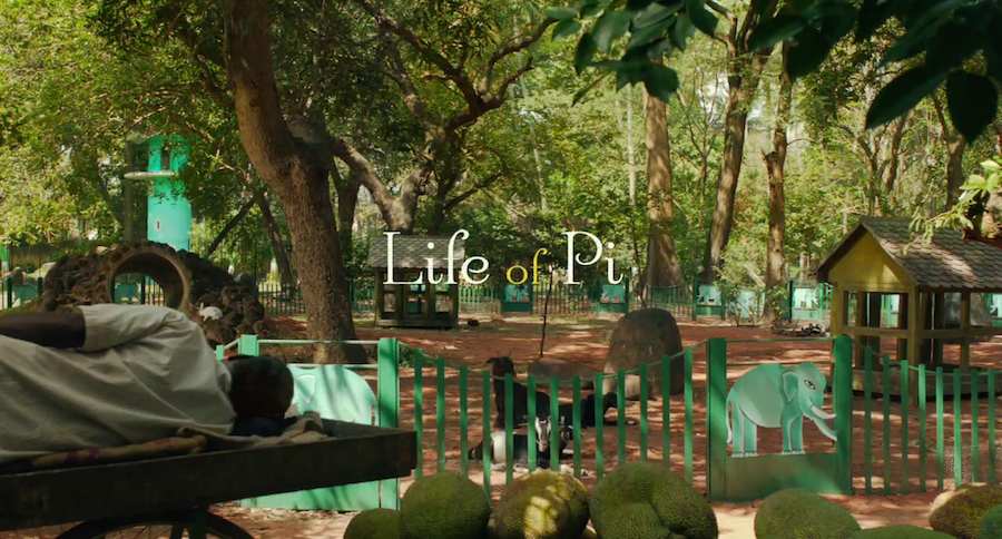 Wait until you see these beautiful movie titles for Life of pi family