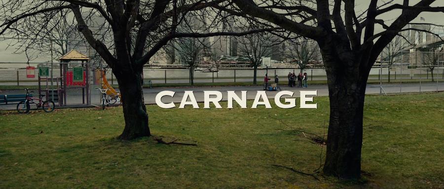 movie title design carnage