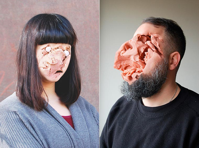 Play-Doh Faces