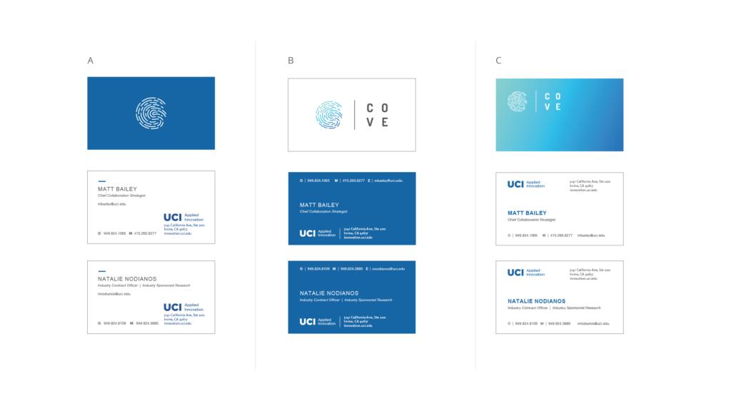 UCI branding cards