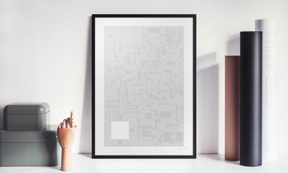 Maze Poster, by Stellavie