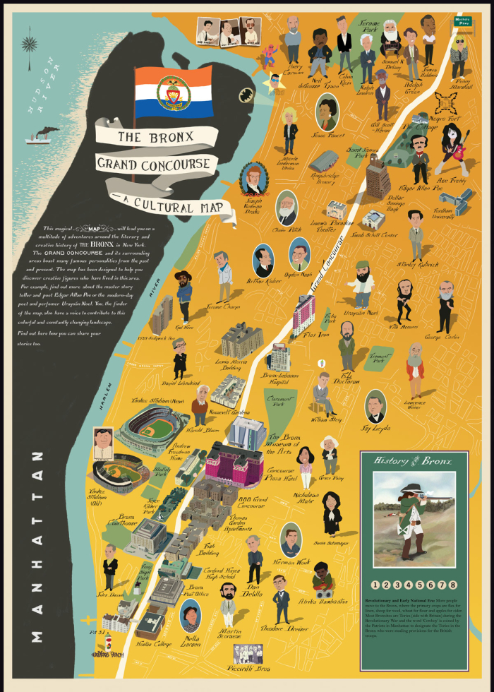 The Bronx Museum of the Arts: The Bronx Grand Concourse—A Cultural Map, 2013