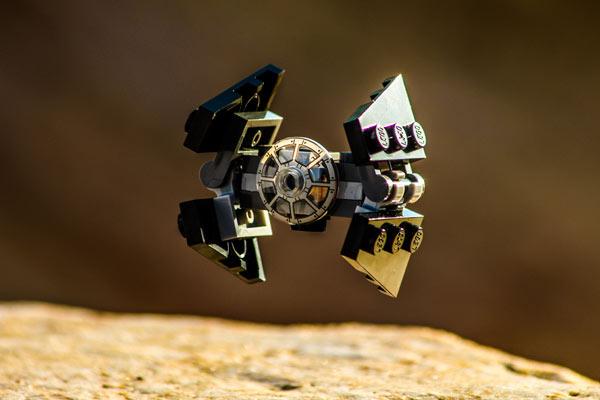star wars advent calendar TIE interceptor