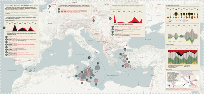 La Lettura Migranti 11 - map -  CS4 ENGLISH