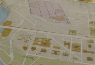 inauguration map