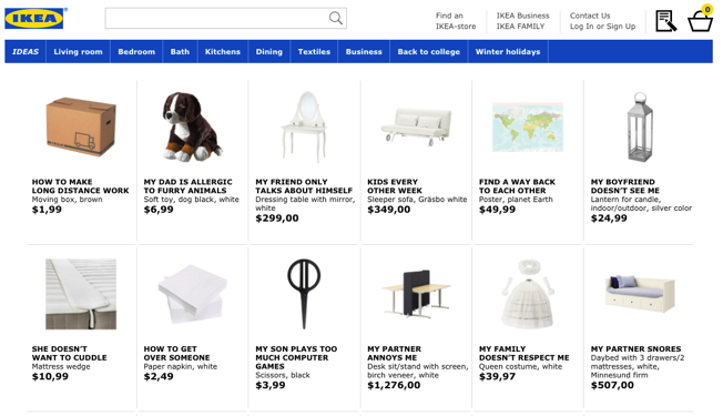 Ikea Retail Therapy Ad
