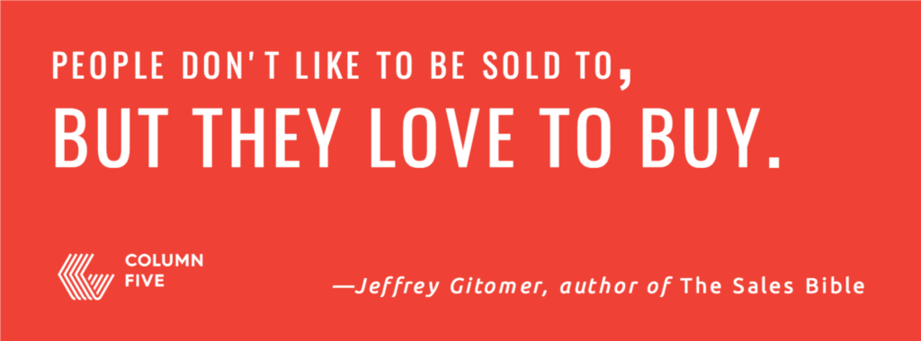 HOW TO MAKE GREAT CONTENT FOR YOUR BUYER'S JOURNEY