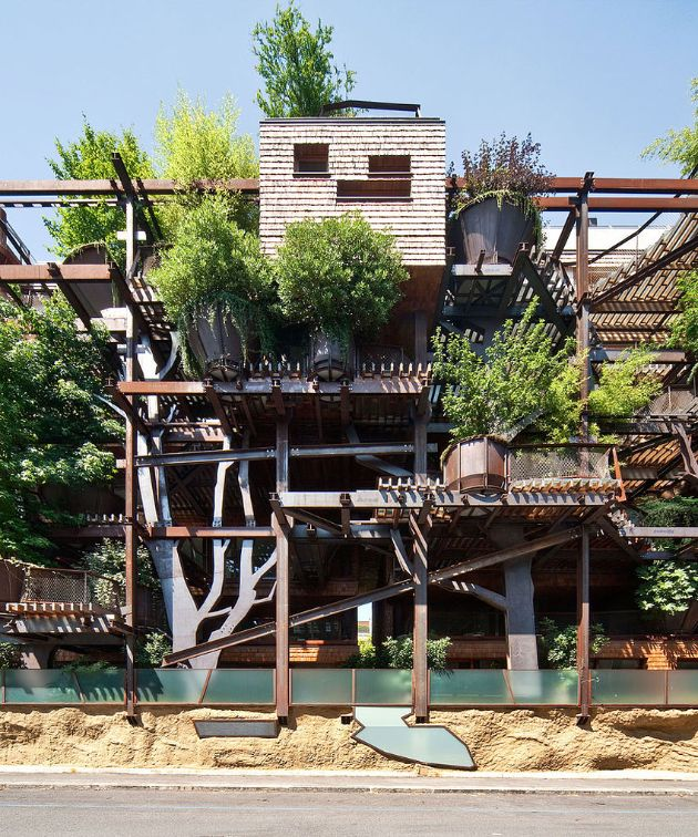 Treehouse Apartments: This Treehouse Apartment Building Will Make You Want To